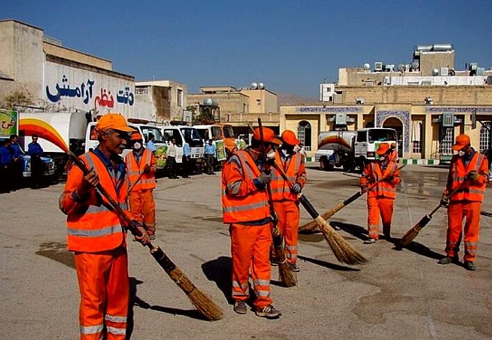 تاثیر تبلیغات در نظافت شهری