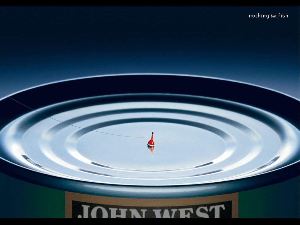 تبلیغات خلاق john west