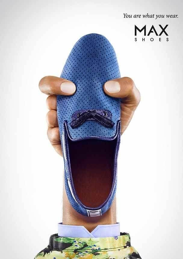 تبلیغ خلاقانه MAX Shoes
