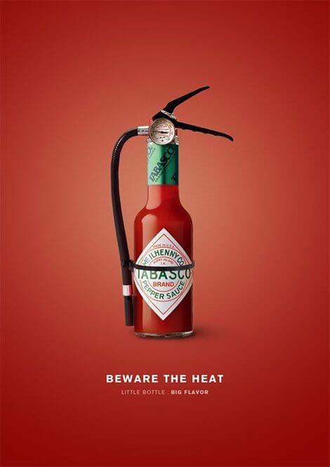 تبلیغات خلاق TABASCO