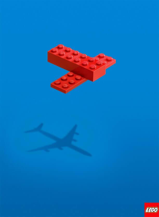 تبلیغات خلاق LEGO