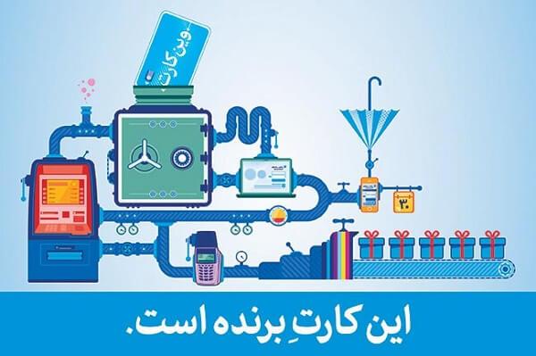 بررسی تبلیغات وین کارت بانک سامان