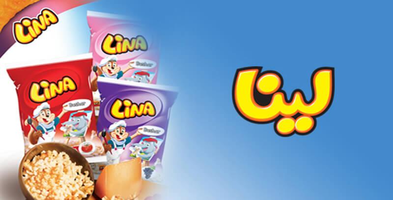کمپین تبلیغاتی شرکت لینا